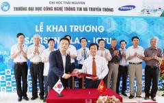 Lễ khai trương Samsung Lab tại Đại học Công nghệ thông tin và Truyền thông Thái Nguyên
