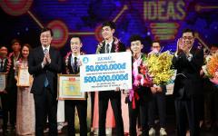Sinh viên Khoa Công nghệ Điện tử và Viễn thông đạt giải nhất cuộc thi Ý tưởng sáng tạo khởi nghiệp